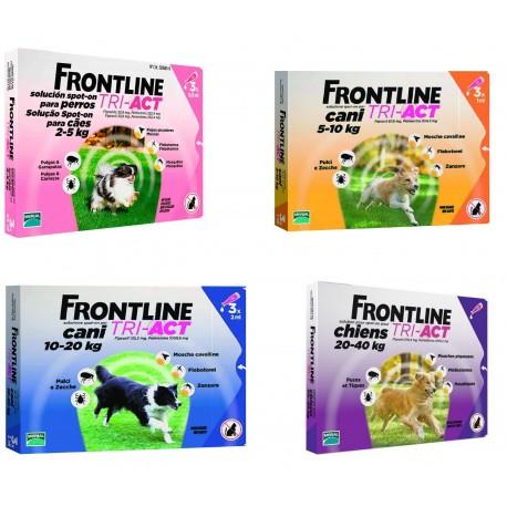 FRONTLINE TRI-ACT PERROS 6 PIPETAS