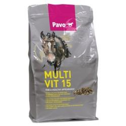 PAVO MULTIVIT 15 3 KG